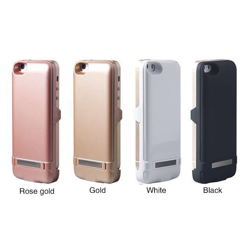 Цена за Для iPhone 5 5S SE Зарядное устройство Случай Питания Внешний Аккумулятор Дело Power Powerbanks 4200 мАч