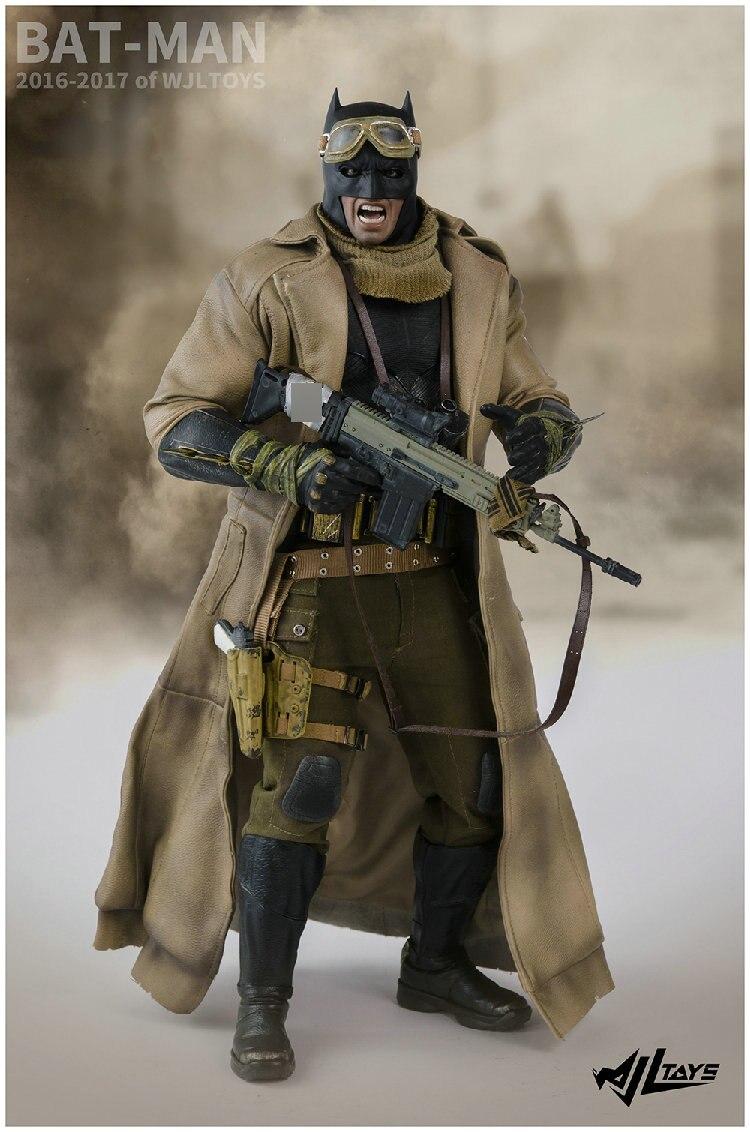 Wjltoys 1//6 SCALA BATMAN Accessorio Vestiti Tuta Set solo per figura Hot Toys