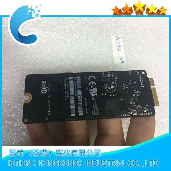 Original 512GB SSD for 11 13 2012 A1369 A1370 A1466 MD224 MD223 MD231 MD232 Solid State Drive