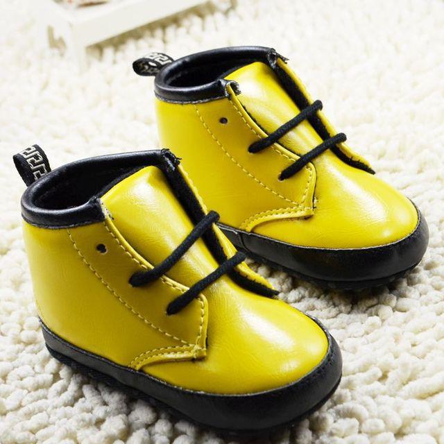 Chaussures Jaunes Pour Bébé TofRFRuxLb