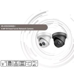 Image 2 - Pre ขายHIKVISION DS 2CD2343G0 I 4MPคงที่IR Turretเครือข่ายMINI Dome IPกล้องH.265 ช่องเสียบการ์ดSD Face DETECT 10 ชิ้น/ล็อต