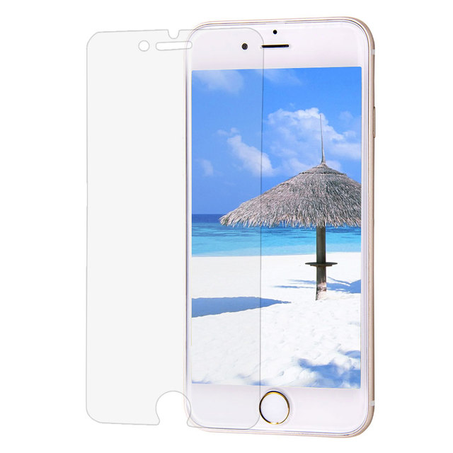 "Lisa (hd) película de pantalla protectora para iphone 7 (4.7 ""), 100 unids en un solo paquete"