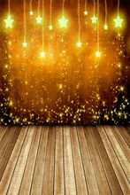 Laeacco Twinkle Stars Light Bokeh Wooden Board Baby Photography Backgrounds Customized Photographic Backdrops For Photo Studio
