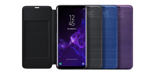 Image 2 - Original Samsung LED Cover Protection Cover Phone Case For SAMSUNG Galaxy S9 G9600 S9+ Plus G9650 Sleep Function Card Pocket