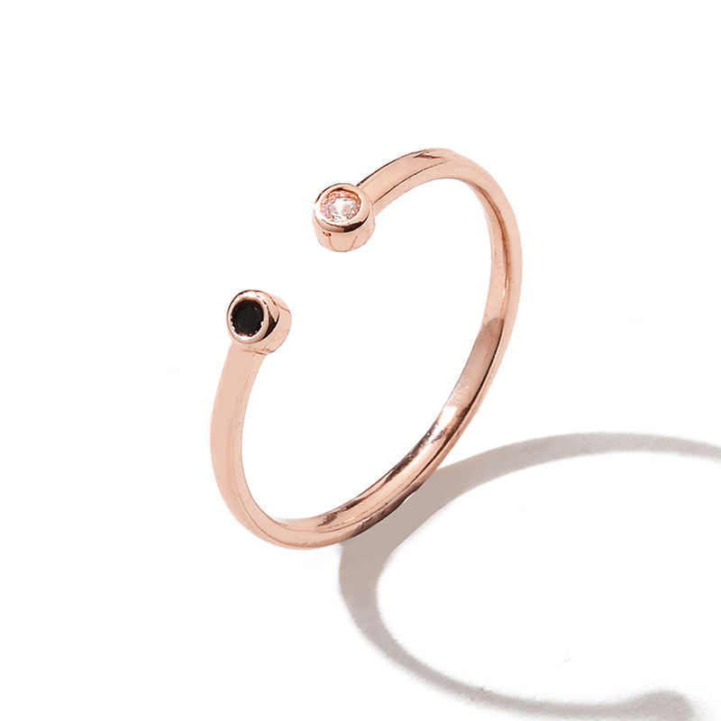 Moon แหวน Midi Crescent Moon เปิดแหวนผู้หญิงแหวน Knuckle เครื่องประดับ Bijoux วันเกิดของขวัญ drop shipping