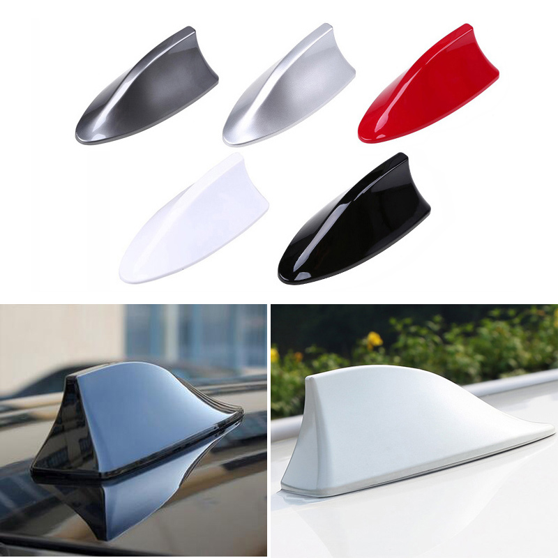 1x Shark Antenna Car Radio Aerials Shark Fin Fm Auto Antena For Mercedes Benz W202 W220 W204 W203 W210 W124 W211 W222 AMG CLK футболка print bar mercedes amg s 63 w222