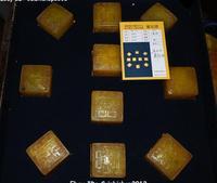 18 100% натуральный Tianhuang Шушан камень Дракон Beast 10 печать штамп перстень комплект