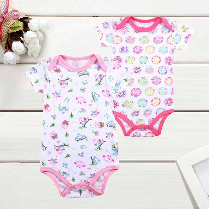 bb99a8a72 Detail Feedback Questions about 2PCS Brand Baby Bodysuits Cotton ...