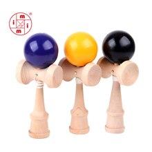 MITOYS Kendama деревянные игрушки спортивная игрушка для игр на открытом воздухе шары умелые жонглирование мяч игрушка для детей струны Профессиональный Размер 18,5 см