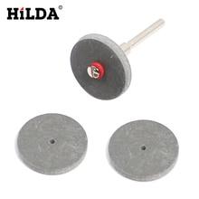 HILDA 3 шт. резиновые полировальные колеса для стоматологические украшения Dremel шлифовальные вращающиеся инструменты диск с оправкой