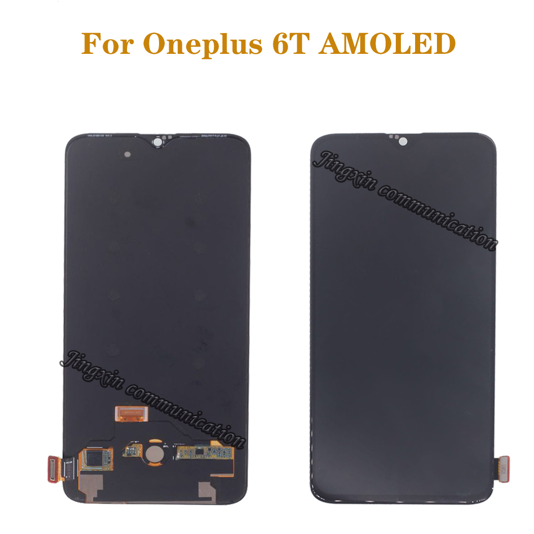6.41 inches for Oneplus 6T LCD display + touch screen replacement kit AMOLED original LCD display 2340 * 1080 glass screen+tools-in Mobile Phone LCD Screens from Cellphones & Telecommunications