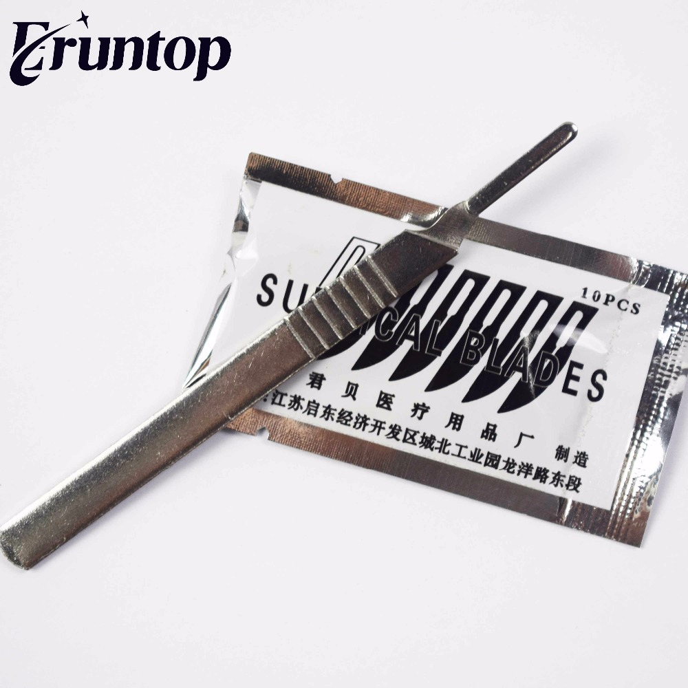 1PCS Hobby Carbon Steel For Phone Repair DIY Tool Handle With Blades