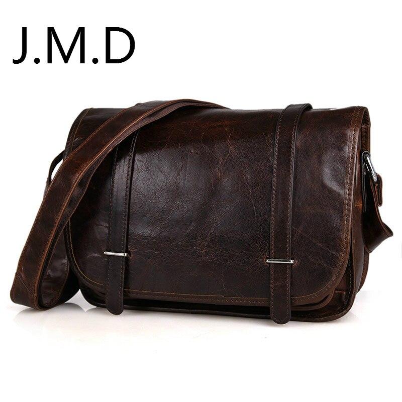 a971972e2aa7 JMD 2019 Новый высокое качество 100% натуральная винтажный из бычьей кожи  сумка женская сумка через