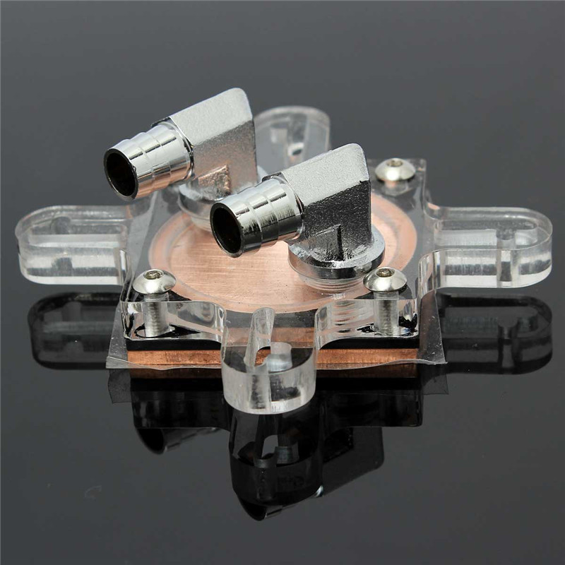 High Quality Copper Base Cooling CPU Waterblock CPU Water Cooling Block 74x70x33mm Cool Inner Channel For AMD INTEL Universial фен elchim 8th sense sunset copper 03082 33