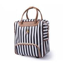 Популярный модный женский чехол на колесиках, брендовый Повседневный чехол на колесиках, сумка для путешествий на колесиках, Чехол для багажа