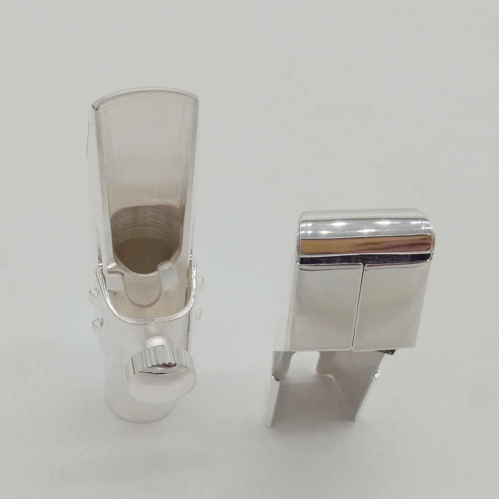 Yanagisawa Profesyonel Enstrüman Saksafon Tenor Soprano Alto Metal Ağızlık Gümüş Kaplama Sax Ağız Parçaları Boyutu 56789
