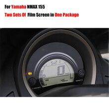 Iki Film Ekranları Bir Parsel Yeni Ultra Net Küme Scratch TPU ekran koruyucu Film Yamaha NMAX Için N MAX 155 NMAX155