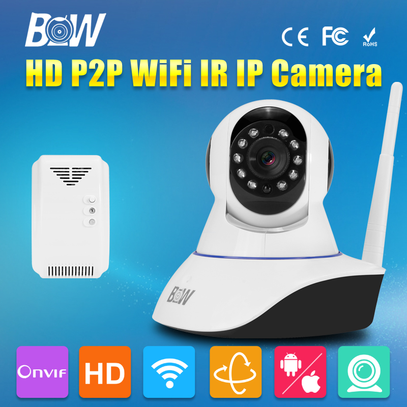 BW HD Concealed Security Camera 720P Wireless Wifi IR Cut Filter Megapixel P2P Baby Monitor CCTV