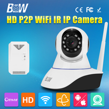 BW HD Hid Safety Digital camera 720P Wi-fi Wifi IR-Lower Filter Megapixel P2P Child Monitor CCTV Digital camera Accent Detector Alarm