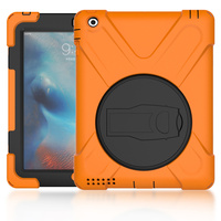 Mini 3 Case Shockproof Protective Silicone PC Hard Case Full Body Protective Case With Kickstand Rotating