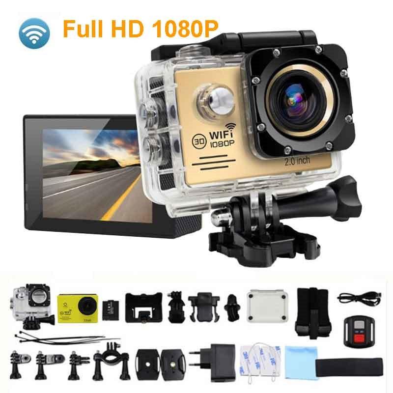 SJ7000R Спортивная камера s 1080P Экшн камера 12MP WiFi Спортивная камера s 30M Водонепроницаемая 2.0LCD Full HD DVR пульт дистанционного управления