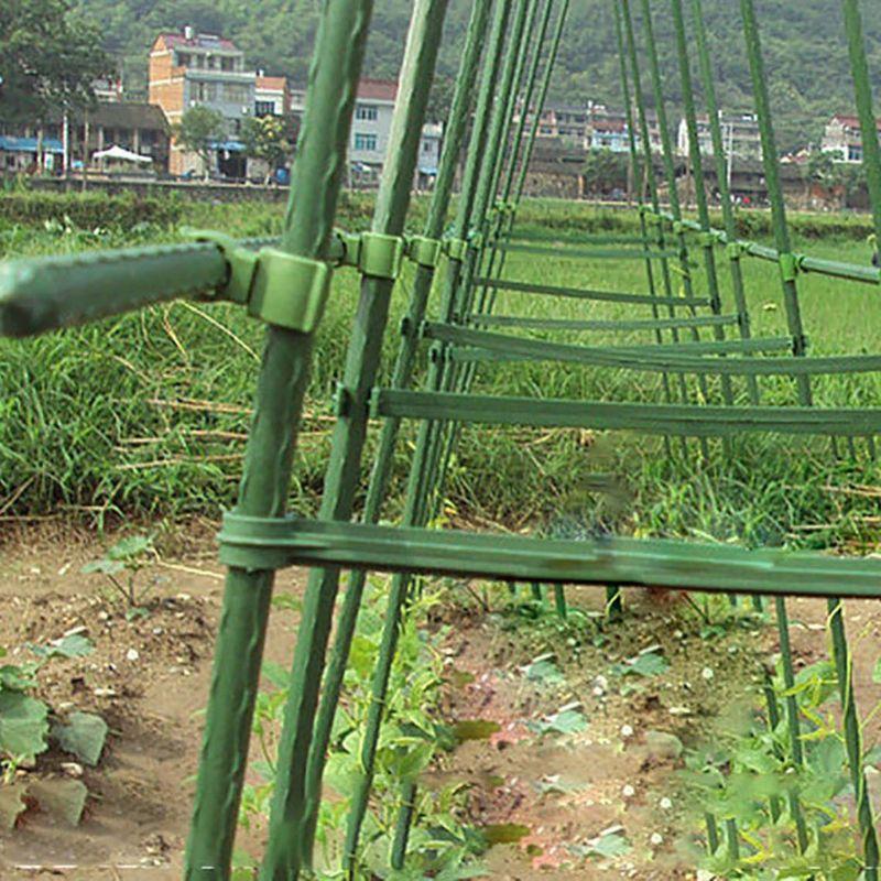 5Pcs Plastic Plant Fix Clips Rack Stem Climbing Vine Support Vegetables Farm Flowers Fruit Tied Bundle Branch Clamping Gardening