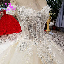 AIJINGYU Tulle Long Bridal Salon Angel Gowns Wedding Dress