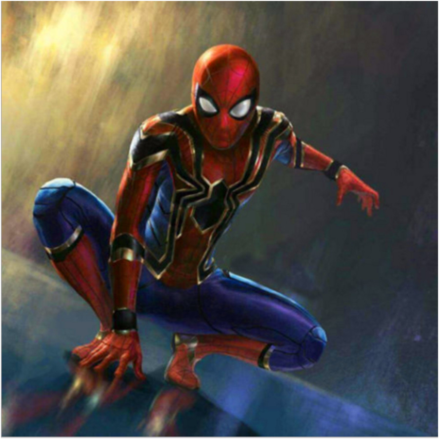 Spider-Man Homecoming Costume Iron Spiderman Anime Cosplay Costume Customized Top