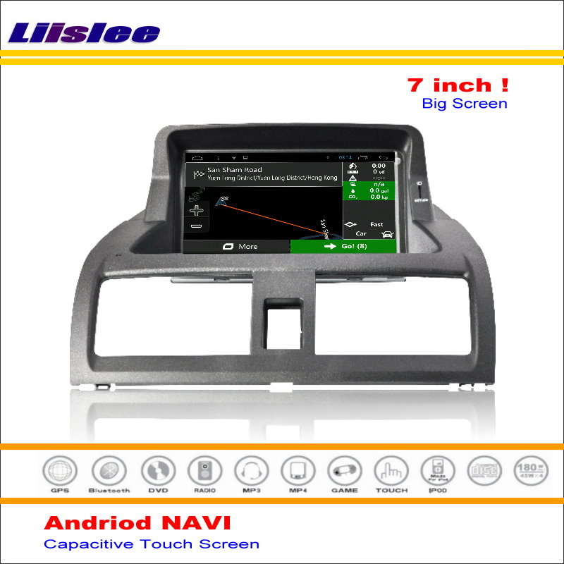 Auto Android GPS Navigation Bildschirm System Für <font><b>Honda</b></font> <font><b>Accord</b></font> <font><b>2003</b></font> 2004 2005 2006 <font><b>2007</b></font> <font><b>Radio</b></font> Audio Video Android Multimedia Player image