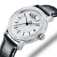 Switzerland Watches Carnival Luxury Brand Full Diamond Watch Women Japan MIYOTA Automatic Mechanical Sapphire Clock C86905 3