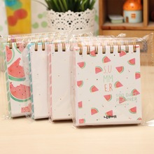100 Days Daily Weekly Month Planner Ring Binder Spiral Small Notebook Watermelon Fruit Day Agenda To Do List Stranded Books