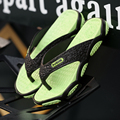 Новый Летняя Мода Корейский Стиль Мужчины Личности Пляжные Тапочки Массаж противоскользящие Тапочки Высокого Качества для Мужчин Флип-Флоп Обувь