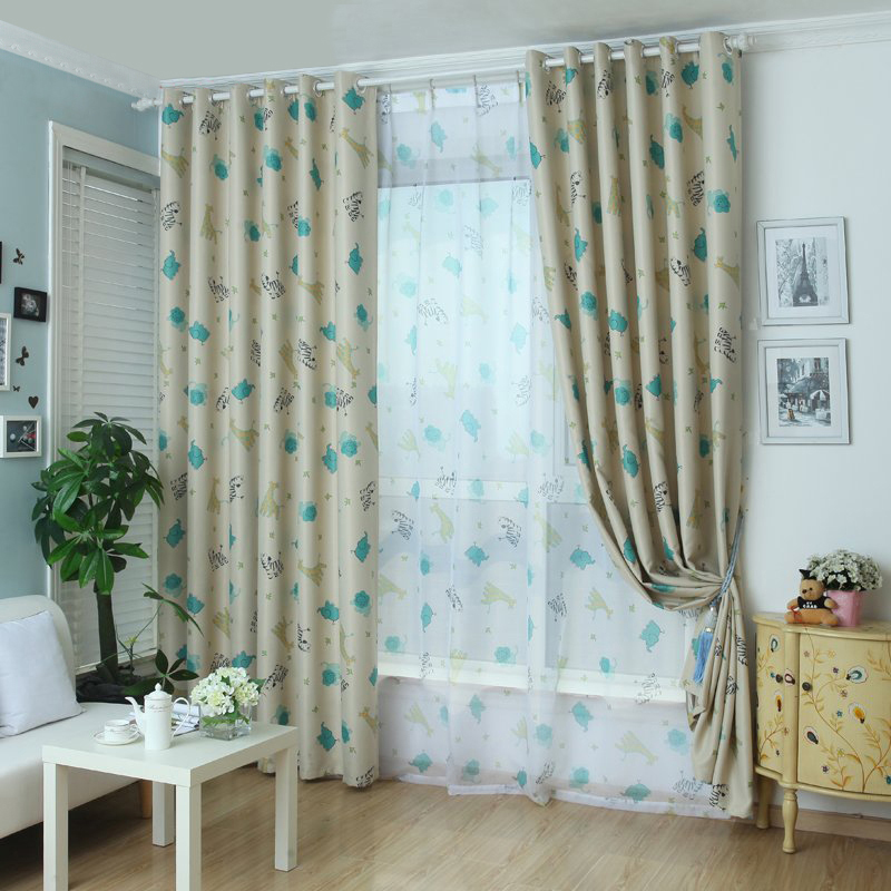 Chic Tulle Voile Window Curtain Drape Panel Animal Print Sheer Scarf  Valances For Living Room AA In Curtains From Home U0026 Garden On  Aliexpress.com | Alibaba ...