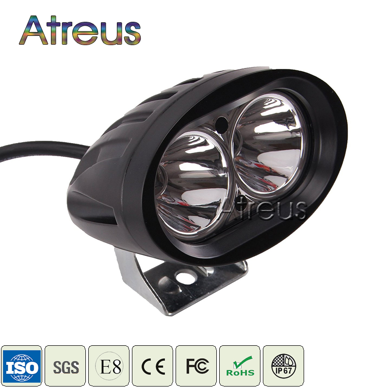 4Inch 20W Car LED Work Light Bar 12V 24V Spot Flood DRL For ATV 4X4 Truck 4WD Offroad Trailer Bicycle Motorcycle Fog Lamp Lights