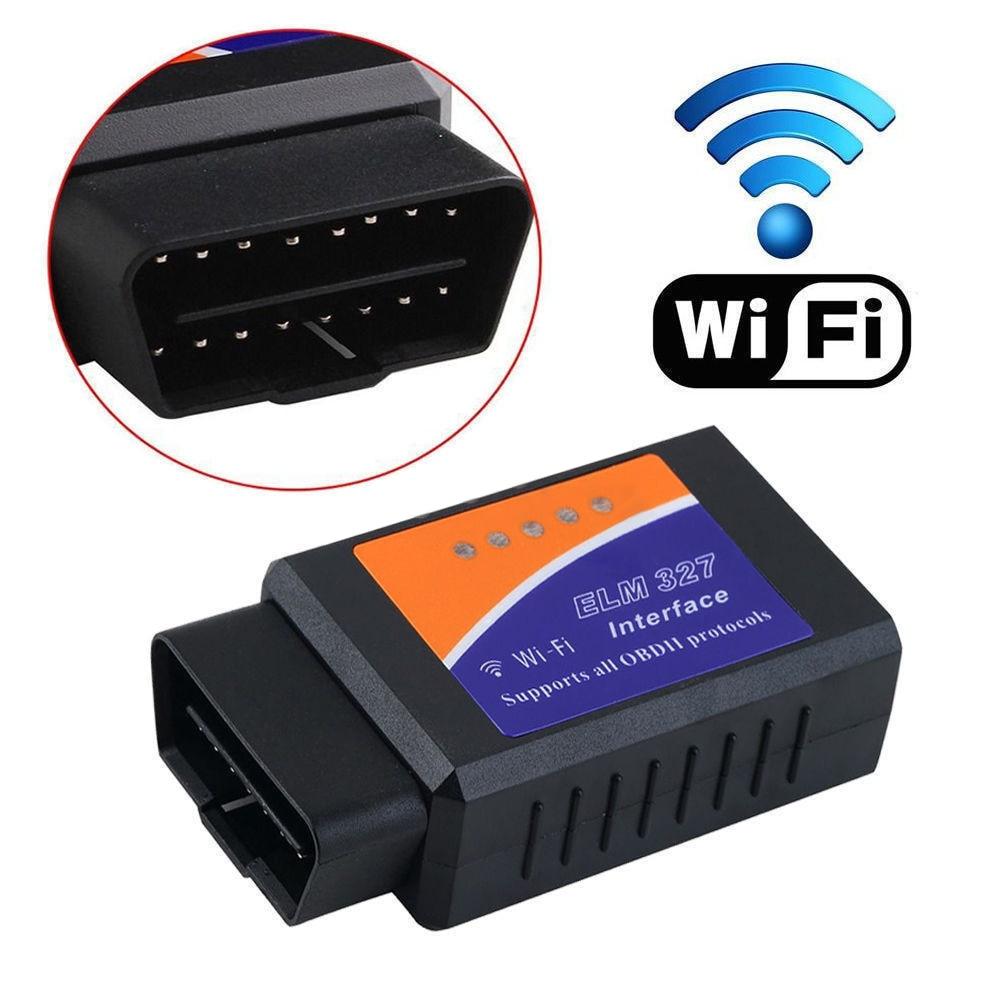 V 1,5 ELM327 explorador Auto Senza Fili OBD2 Adattatore OBDII ELM 327 interfaz OBD2/OBD II Auto Diagnostica escáner wifi herramienta