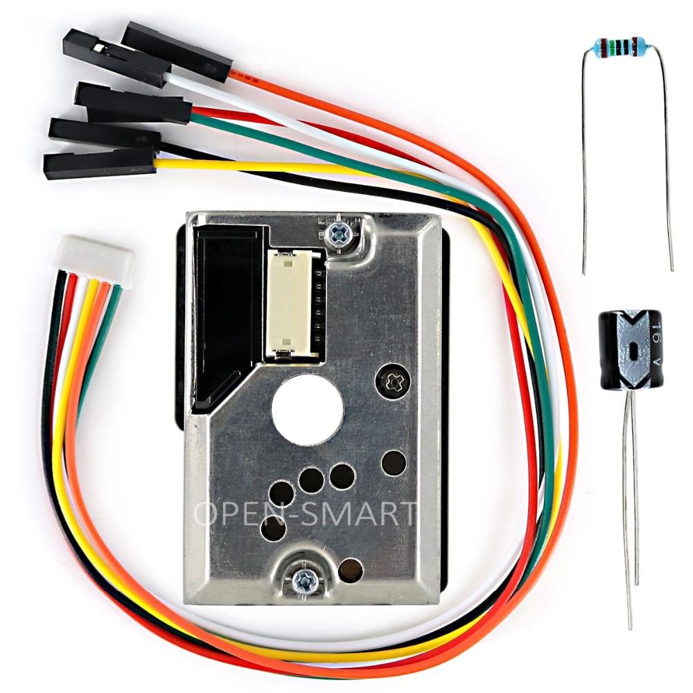 OPEN-SMART PM2.5 Optical Dust Smoke Sensor Module For Arduino