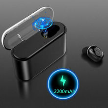 Portable Wireless Earphones Music Sound Bluetooth 5.0 Headset TWS Twins Earbuds Accessories