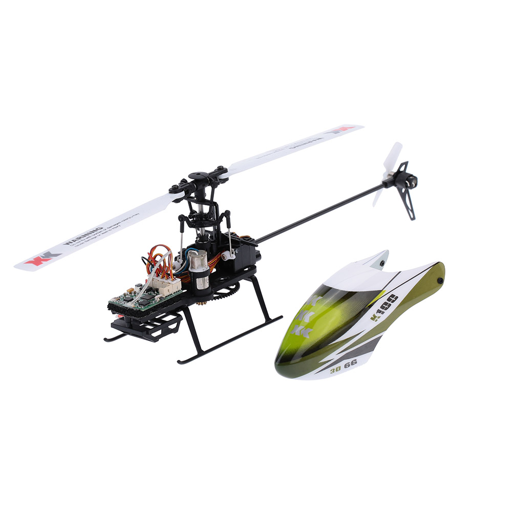 Falcon K100-B 6CH 3D 6G System BNF RC Helicopter Remote Control Aircraft Plane Electronic Flying Toys Clearance Sales (7)
