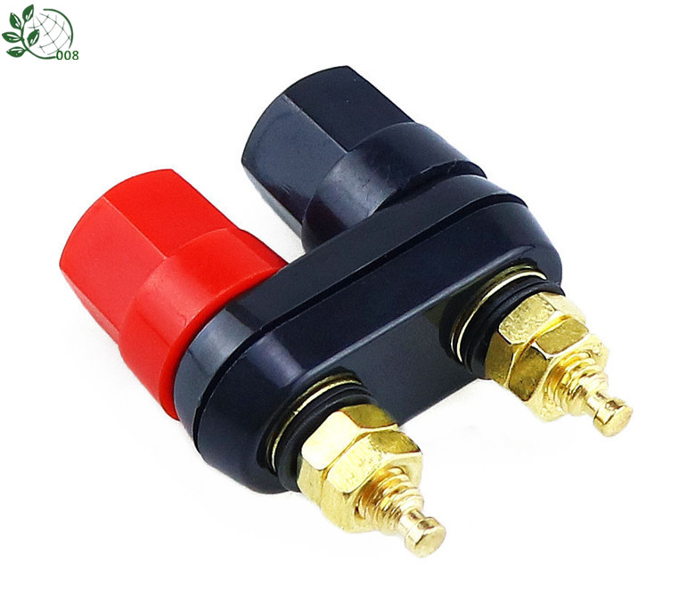 Banana Plugs Couple Terminals Red Black Connector Amplifier Terminal Binding Post Banana Speaker Plug Jack Tools
