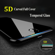 5D 9H Curved Edge Full Cover Tempered Glass For iPhone 7 6 6S 8 Plus X XR XS Max Screen Protector Toughened Protective Cover 4D