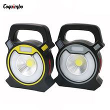 Powerful COB LED Light 4 Mode Rechargeable Led Camping Light Work Light USB Charging Torch Lantern Use Outdoor Camping Emergency