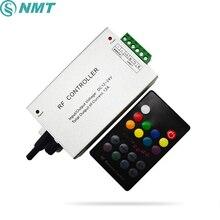 18 Key RGB LED Music Controller DC12V 24V Audio Sound 3 Channel 4A 12A RF 433