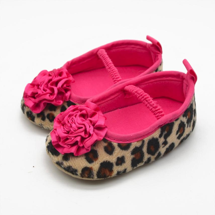 LONSANT Baby Girl Shoes 2018 Infant Girls Leopard Flowers Soft Bottom Prewalker First Walker Dropshipping WholesaleLONSANT Baby Girl Shoes 2018 Infant Girls Leopard Flowers Soft Bottom Prewalker First Walker Dropshipping Wholesale