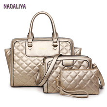 NADALIYA NEW 2017 Women High Quality PU Leather Women s Messenger Shoulder Bags Fashion Lozenge Lady