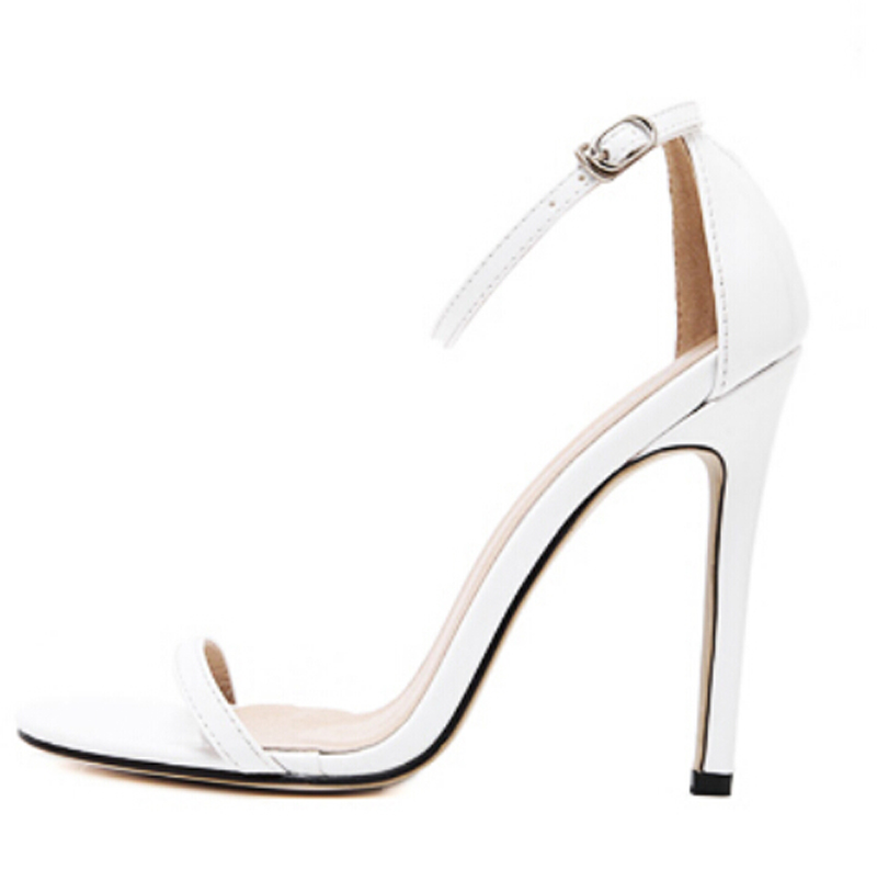 9904e5580 THE NUDIST SANDAL Red Carpet Women Ankle Strap Sandals T strap Stars  favorite 11cm High Heel sexy Sandals party shoes 3color-in Women s Sandals  from Shoes ...