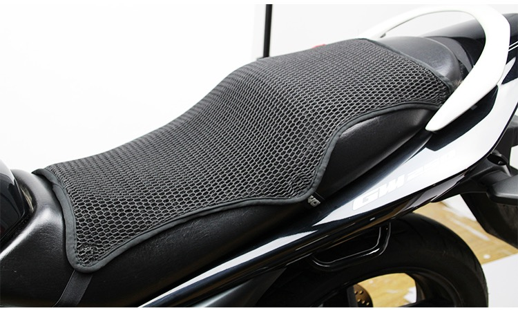 Motorcycle Scooter Motorbike Motorcross  Dirtbike 3D Mesh Seat Cover  Anti-Slip(China)