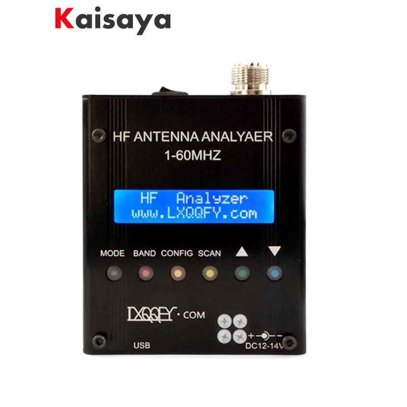 HF 1-60MHZ MR300 QRP SARK100 Bluetooth Shortwave Antenna Analyzer with battery in case интегральная микросхема qrp tune diy 1 30 cw
