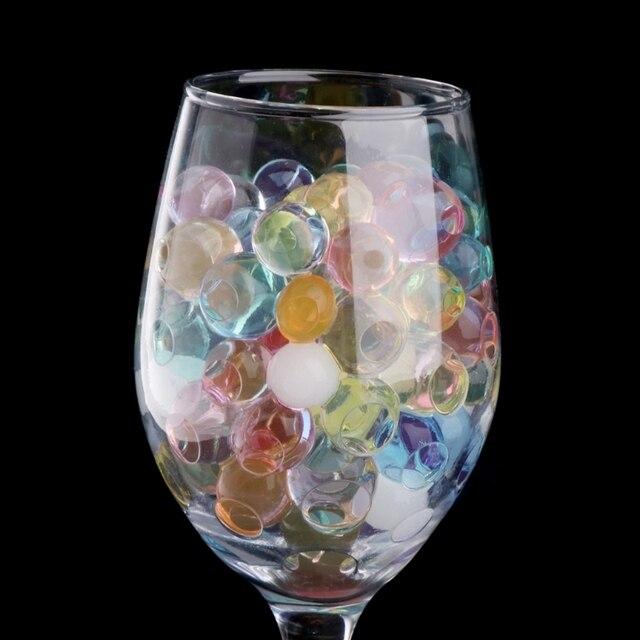 Bunte Kristall Perlen Wasser Anlage Boden Schlamm Blume Gelee Hydro Gel Perle Kugeln