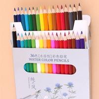 36 Colored Drawing Pencils Artist Sketch Secret Garden Natural Wood No Toxic Color Pencil