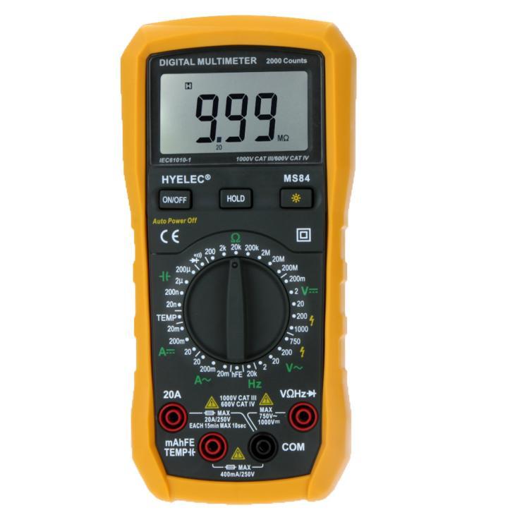 Resistance Symbol On Multimeter : Digital multimeter counts ac dc resistance